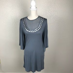French Connection Latrice Neck Mini Dress ⭐️ Free*
